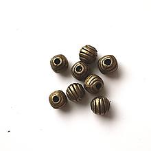 Korálky - VÝPREDAJ -staromosadzná korálky cca 400ks - 13190459_