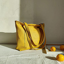 Nákupné tašky - Nina (žltá) - 13191963_