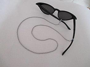 Iné doplnky - Retiazka na okuliare bez korálkovej dekorácie - 13191163_