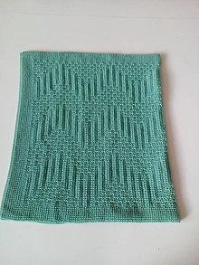 Textil - Detská pletená deka - 13191267_