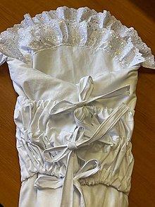 Textil - Zavinovačka pre bábo (Biela) - 13194140_