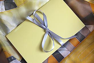 Papiernictvo - Darčekové balenie na hodváb... - 13192486_