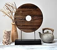 - Drevená dekorácia - Kruh - 13190828_