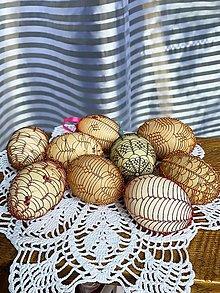 Dekorácie - Drôtované vajíčka - 13191766_
