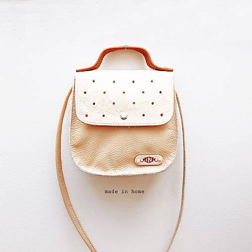 Kabelky - Kabelka ART minibag leather no.3 - 13189880_