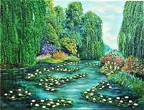 Obrazy - Z Monetovej záhrady II - 13196667_