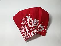 Rúška - Výpredaj,rúško antibakteriálne ,listy na červenej - 13195056_