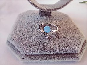 Prstene - Prteň/striebro/ Ethiopian opál - 13197978_