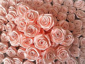 Iné doplnky - Saténové ružičky - 13197873_