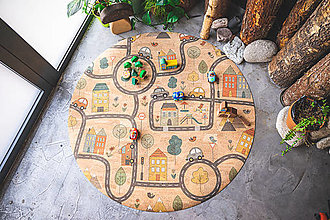 Úžitkový textil - Korkový koberec CITY - 13196953_