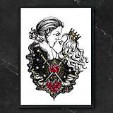 Kresby - Obraz Bozk   Print - 13194862_