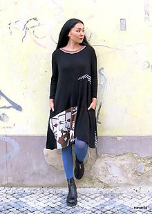 Šaty - CUBA LIBRE- sešívané šaty - 13195078_