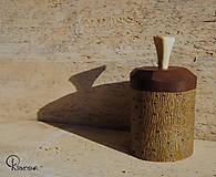 Krabičky - Drobná lipová krabička s jasanovým víčkem - 13195068_