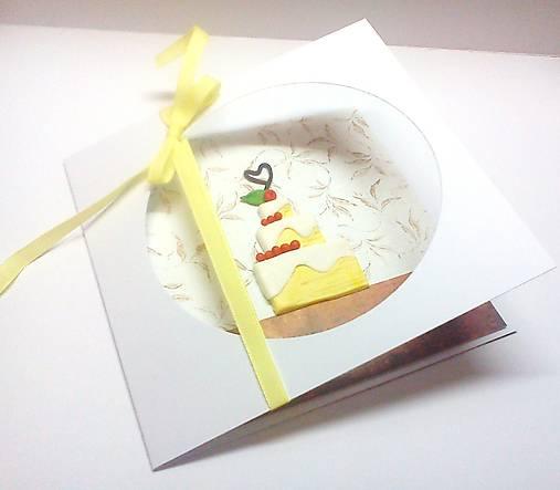 Pohľadnica ... torta