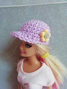 Hračky - Šiltovka pre Barbie - 13199957_