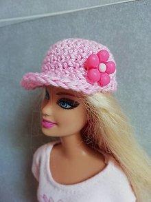 Hračky - Šiltovka pre Barbie - 13200015_