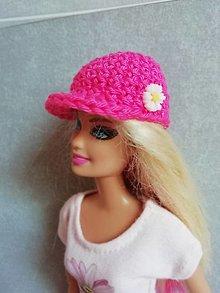 Hračky - Šiltovka pre Barbie - 13200020_
