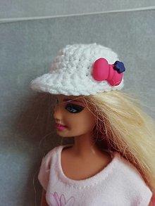 Hračky - Šiltovka pre Barbie - 13200026_