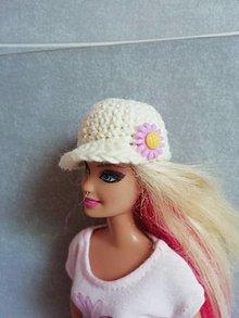 Hračky - Šiltovka pre Barbie - 13200028_