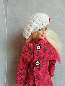 Hračky - Háčkovana čiapka pre Barbie - 13200039_