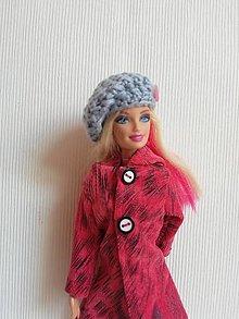 Hračky - Háčkovana čiapka pre Barbie - 13200051_