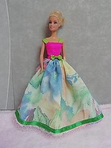 Hračky - Šaty pre Barbie - 13201606_