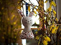 Kľúčenky - kľúčenka -zajačik (1) - 13201197_