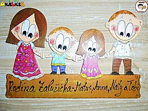 Tabuľky - Menovka - rodinka - 13201514_