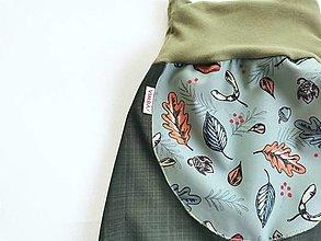 """Detské oblečenie - Softshellky jarné """"do hory, do lesa"""" - 13201411_"""