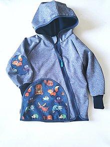 """Detské oblečenie - Softshellka """"wild life"""" - 13201418_"""