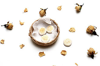 Hračky - Mini pečivo - pita chlieb ♡ - 13202323_