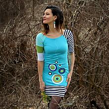 Šaty - Šaty Azúrové pobrežie - 13199764_