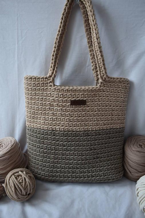 Hnedá taška s podšívkou