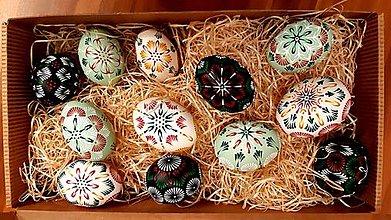 Dekorácie - Set tradičných kraslíc - 13202565_