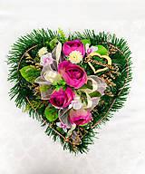 Dekorácie - Spomienkové srdce - 13201117_