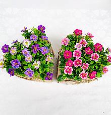 Dekorácie - Kvetinová dekorácia - 13201065_