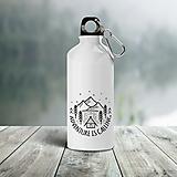 - ADVENTURE IS CALLING turistická fľaša - 13201695_