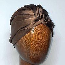 Čiapky - Hodvábny turban - 13201818_
