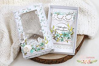 Papiernictvo - Narodeninové blahoželanie v krabičke II - 13206570_