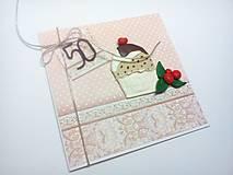 Papiernictvo - Pohľadnica ... koláčik - 13203956_
