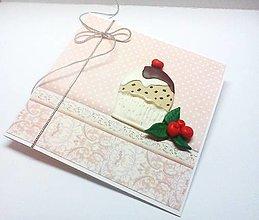 Papiernictvo - Pohľadnica ... koláčik - 13203955_