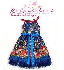 """Detské oblečenie - Rozprávkové šatičky """"Belle Epoque"""" 128/134 - 13203522_"""