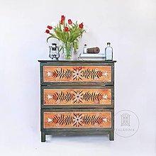 """Nábytok - Ručne maľovaná komoda """"Tradičná"""" (rôzne veľkosti) - 13205266_"""