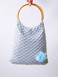 Nákupné tašky - Pletené tašky - 13205121_