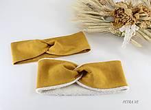 Detské čiapky - Čelenka - OKER, set (aj samostatne) - 13203479_