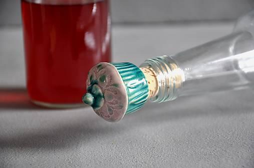 Zátka na fľašu mafín
