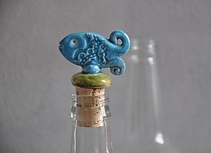 Pomôcky - Ryba zátka na fľašu - 13205275_