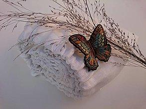 Úžitkový textil - Napínacia plachta 100% ľan - 13205512_