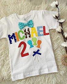 Detské oblečenie - BODY, BODIČKO na oslavu, personalizované TRIČKO - 13206696_