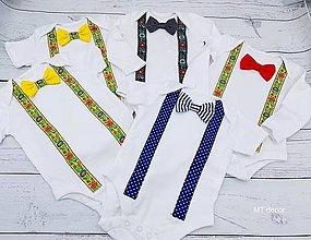 Detské oblečenie - FOLK BODY, BODIČKO na oslavu - 13206712_